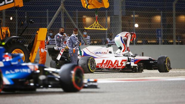 Nikita Mazepin - Haas - GP Bahrain 2021