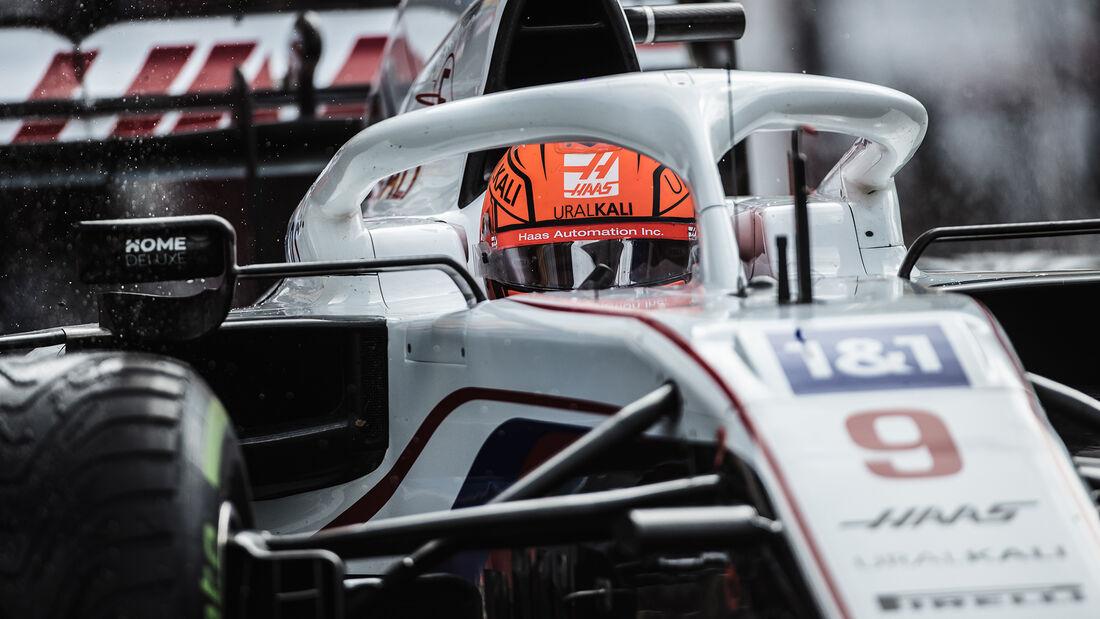 Nikita Mazepin - Haas - GP Belgien 2021 - Spa-Francorchamps
