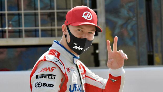 Nikita Mazepin - Haas - Test - Formel 1 - Bahrain - 12. März 2021