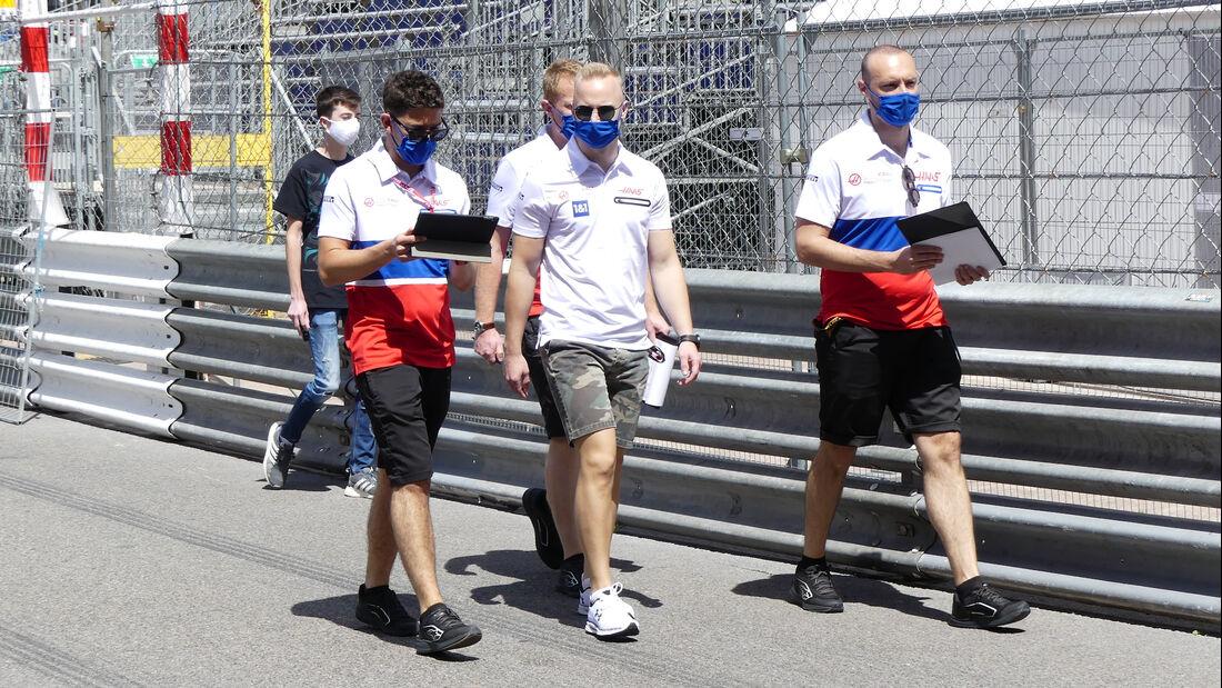 Nikita Mazepin - HaasF1 - Formel 1 - GP Monaco - 19. Mai 2021