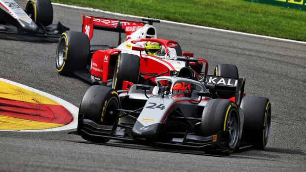 Nikita Mazepin - Hitech Grand Prix - Formel 2 - Belgien - Spa-Francorchamps