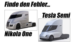 Nikola One Tesla Semi Design Kopie