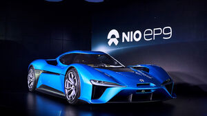 Nio EP9 Vorstellung London Saatchi Gallery