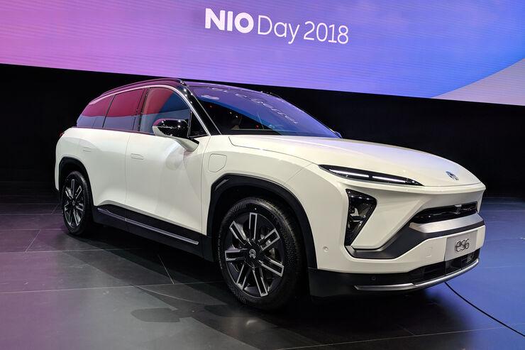 Nio ES6 Weltpremiere Shanghai 2018