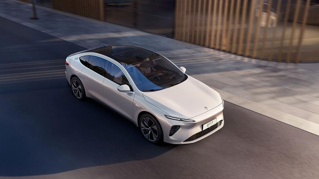 Nio ET7 Elektro-Limousine 2022