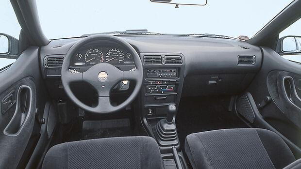 Nissan 100 NX, Cockpit