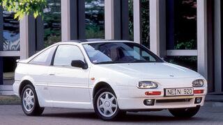 Nissan 100 NX, Heckansicht