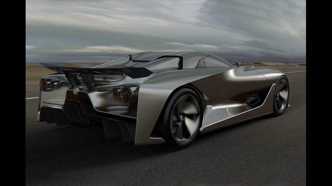 Nissan 2020 Vision Gran Turismo - GT6 Concept 2014