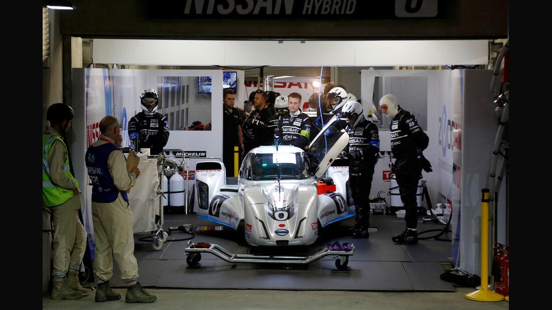 Nissan - 24h Le Mans - 11. Juni 2014