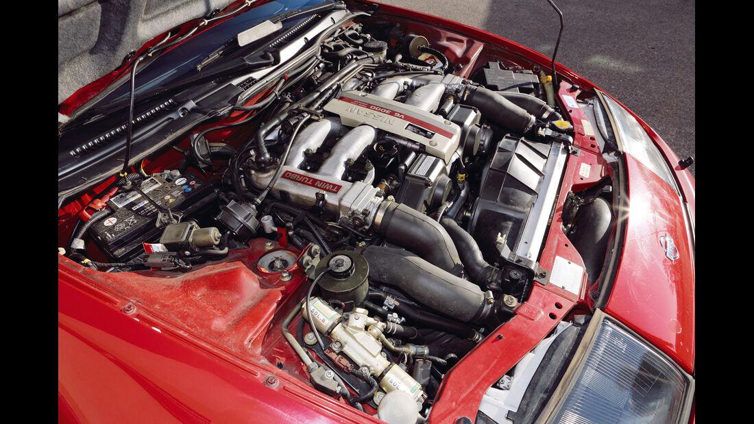 Nissan 300 ZX Twin Turbo, Motor