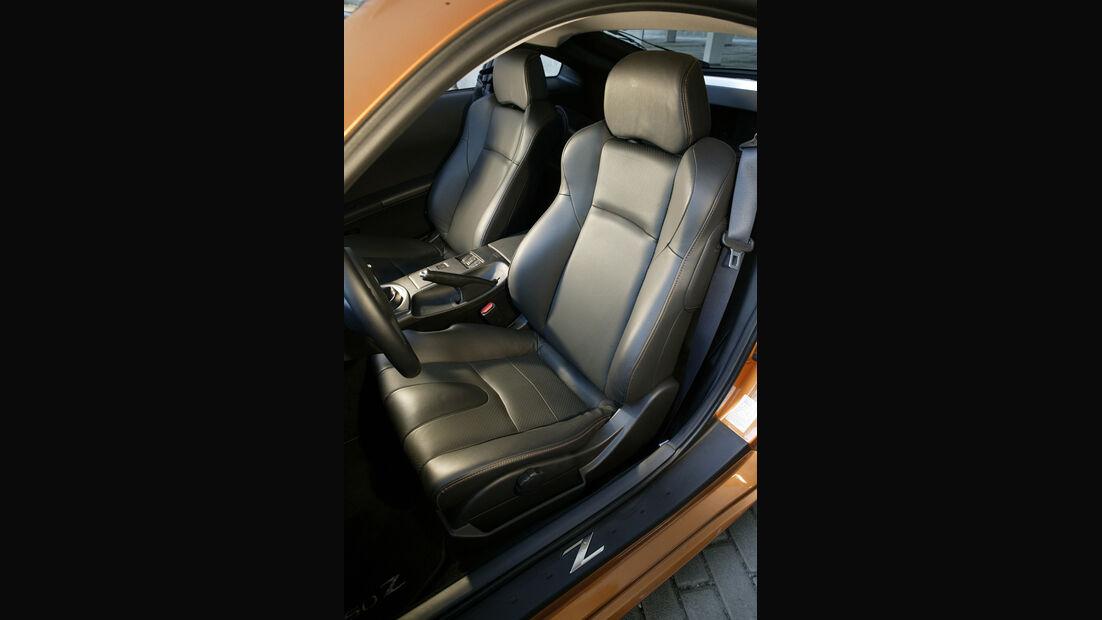 Nissan 350 Z Coupé, Fahrersitz
