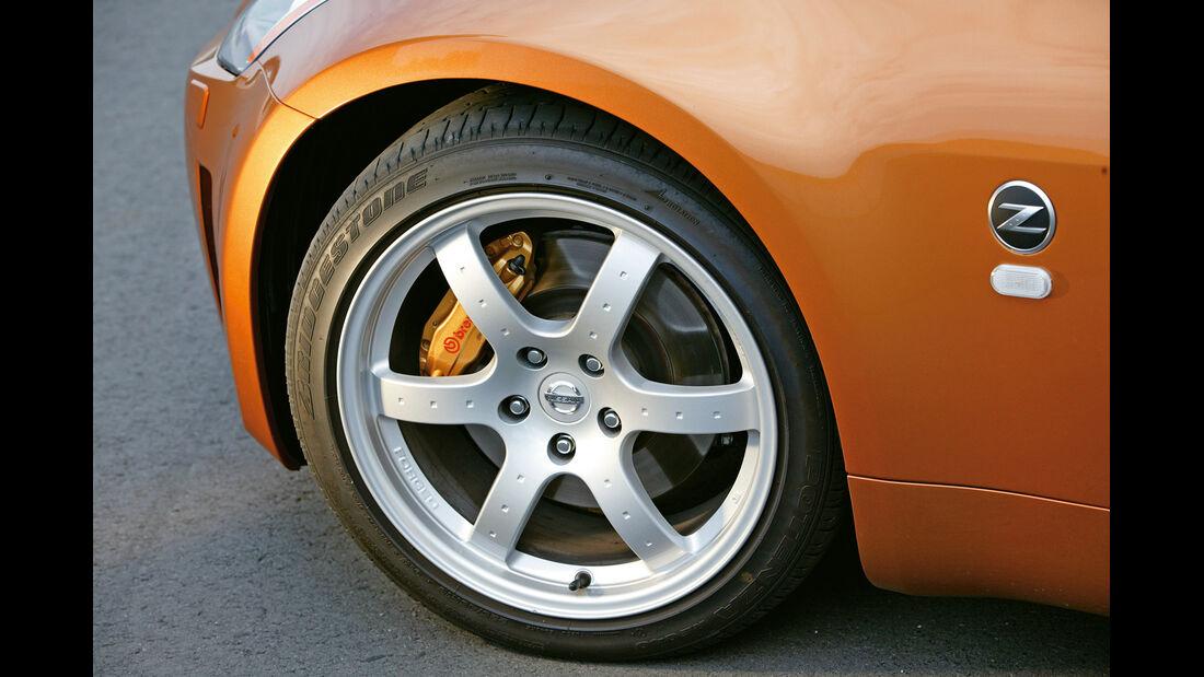 Nissan 350 Z Coupé, Rad, Felge
