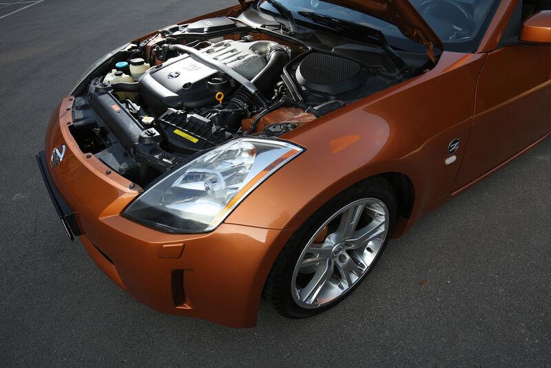 Nissan 350Z, Exterieur