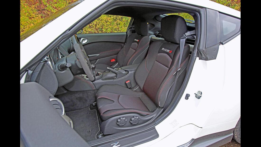 Nissan 370 Z Nismo, Fahrersitz