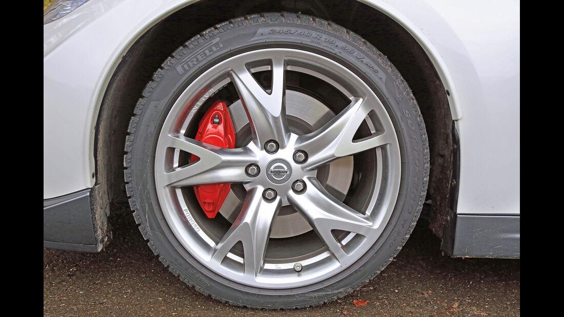 Nissan 370 Z Nismo, Rad, Felge, Bremse