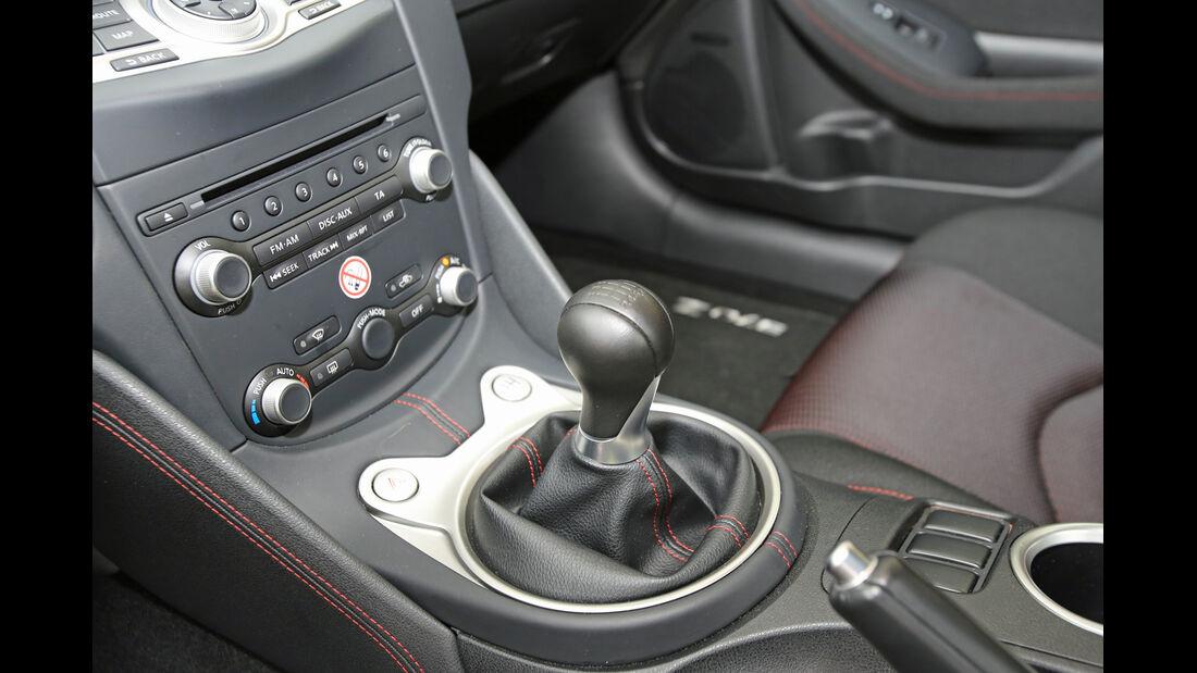 Nissan 370 Z Nismo, Schalthebel