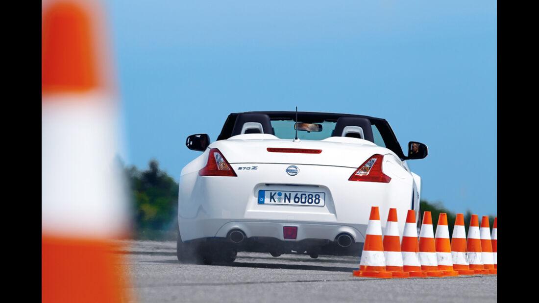 Nissan 370 Z Roadster, Heck, RŸckansicht