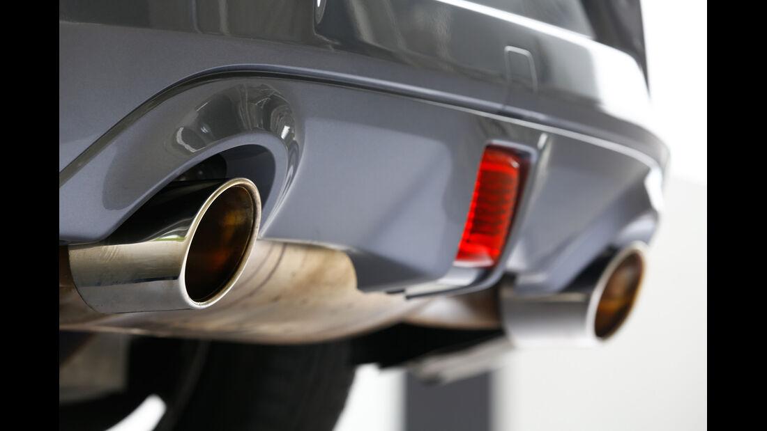 Nissan 370Z, Endrohr, Auspuff