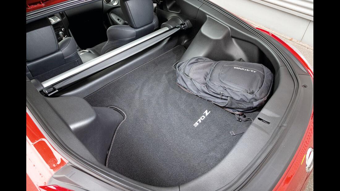 Nissan 370Z, Kofferraum