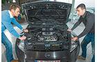 Nissan 370Z, Motor, Motorhaube