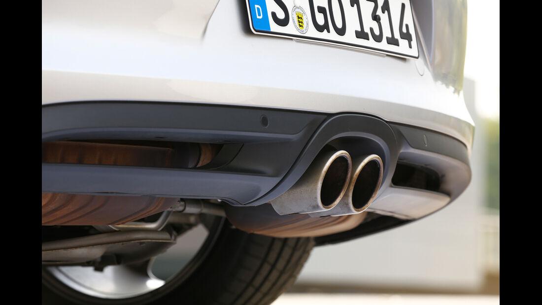 Nissan 370Z Nismo, Auspuff, Endrohr