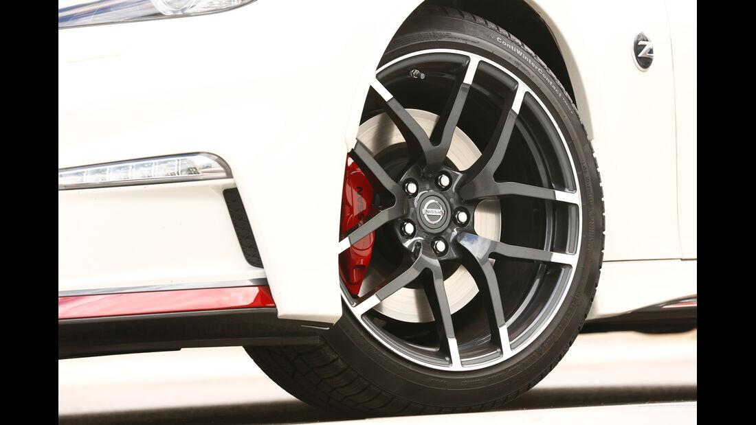 Nissan 370Z Nismo, Rad, Felge