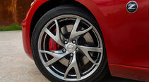 Nissan 370Z, Reifen, Felgen, Bremsen