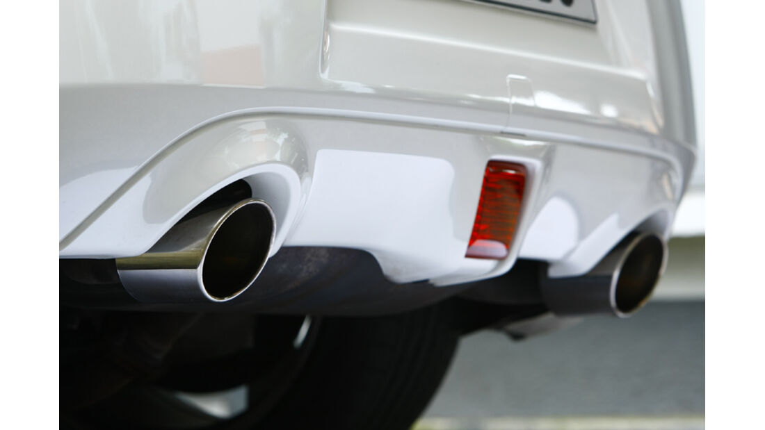 Nissan 370Z Roadster Auspuff