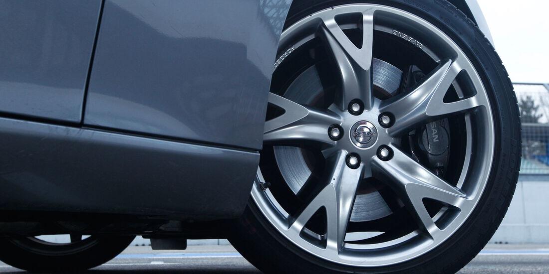 Nissan 370Z Roadster, Rad, Felge