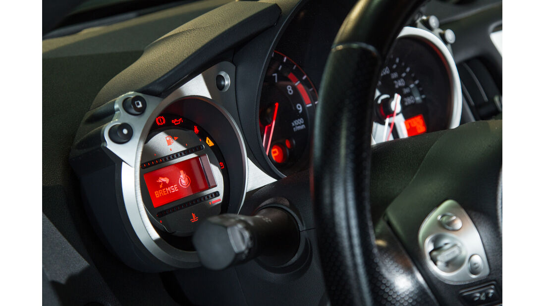 Nissan 370Z, Rundinstrumente