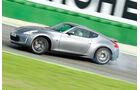 Nissan 370Z, Seitenansicht, Driften