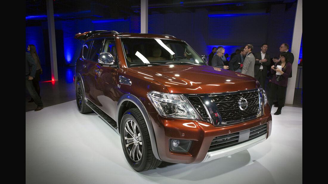 Nissan Armada Chicago Autoshow Weltpremiere 2016