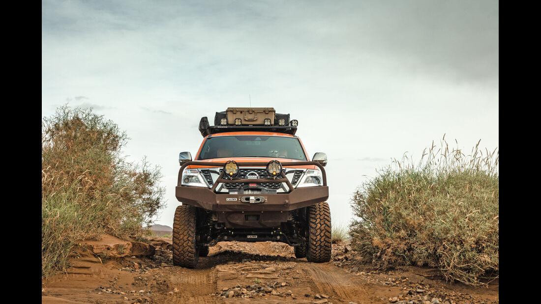 Nissan Armada Mountain Patrol Fahrbericht