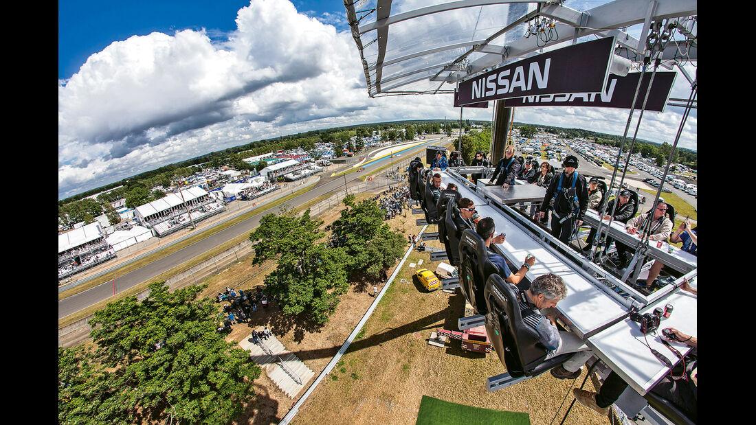 Nissan, Aussichtsplattform