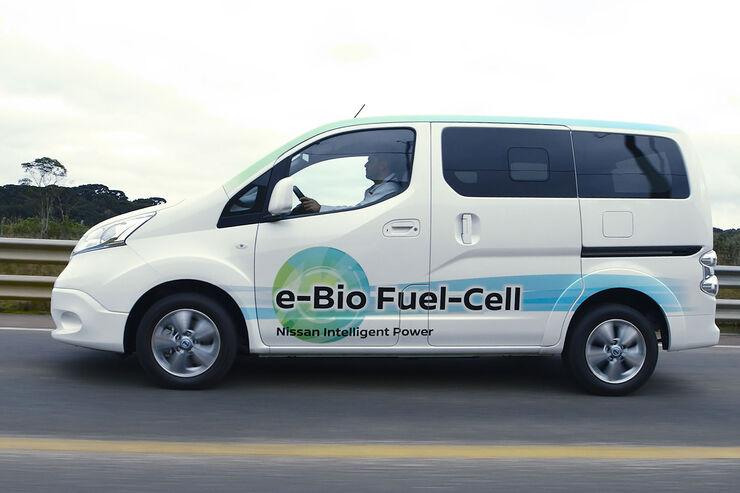 Nissan Brennstoffzelle: Wasserstoff aus Bioethanol
