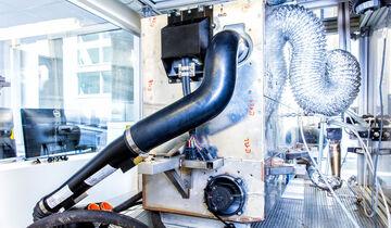 Nissan Brennstoffzelle mit Bioethanol