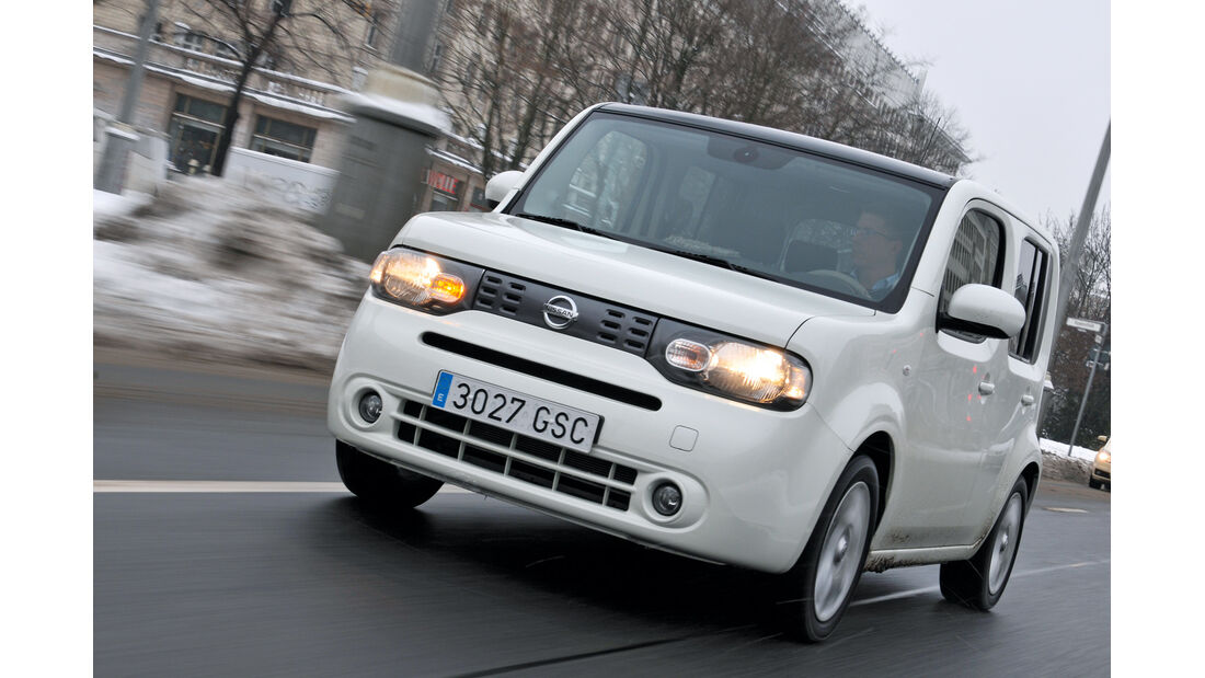 Nissan Cube 1.6, Frontansicht