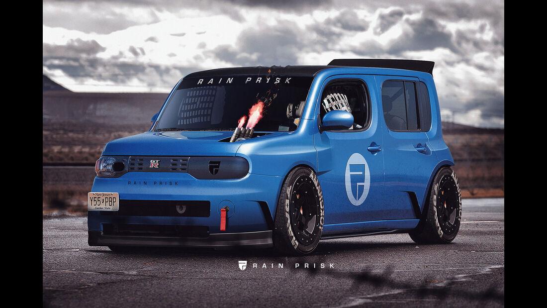 Nissan Cube GT-R - Design-Konzept - Grafikkünstler Rain Prisk