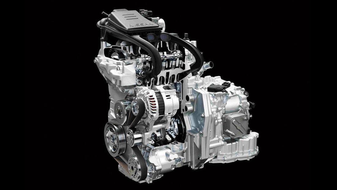 Nissan Dreizylinder-Motor