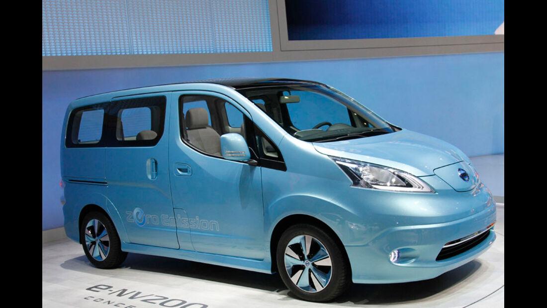 Nissan E-NV200 Concept Car, Autosalon Genf 2012, Messe