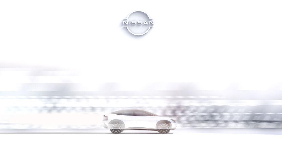 Nissan EV Zukunft Teaser Sunderland