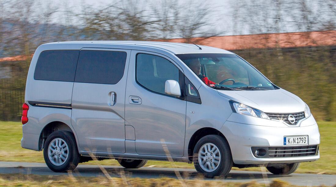 Nissan Evalia, Seitenansicht