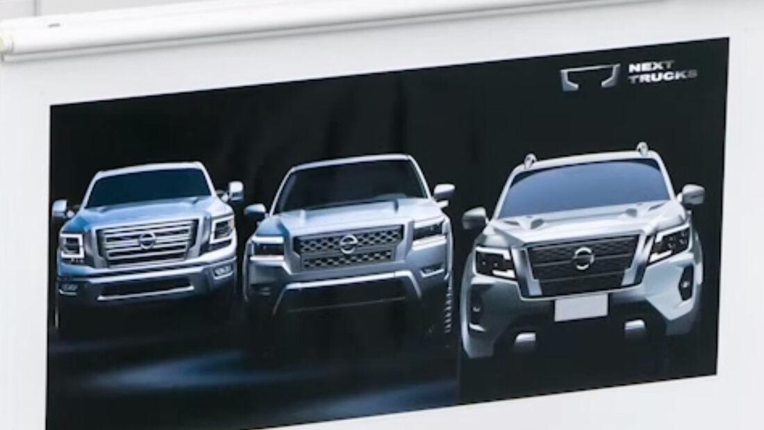 Nissan Frontier 2022 Teaser