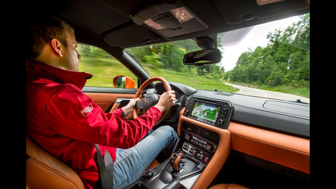 Nissan GT-R (2017) - Sportwagen - Spa-Francorchamps - Fahrbericht