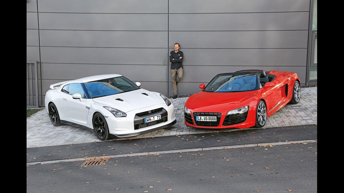 Nissan GT-R, Audi R8 Spyder, Gebrauchtwagen, Sportwagen