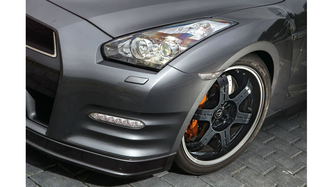 Nissan GT-R Black Edition, Felge