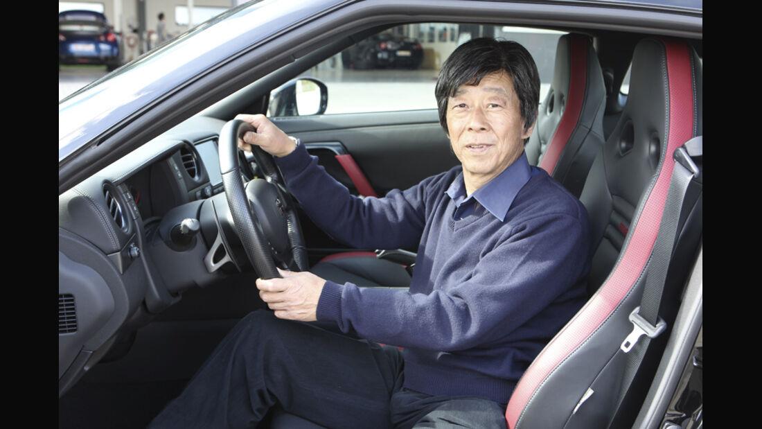 Nissan GT-R CBA-R35, Cockpit