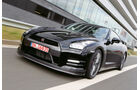Nissan GT-R CBA-R35, Frontansicht