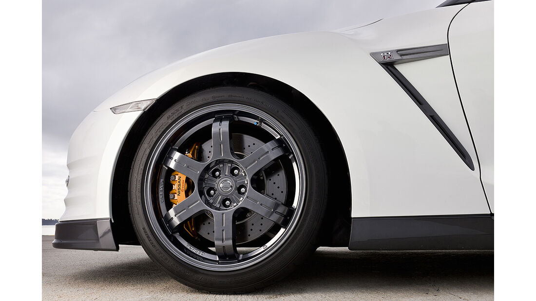 Nissan GT-R Egoist, Felge