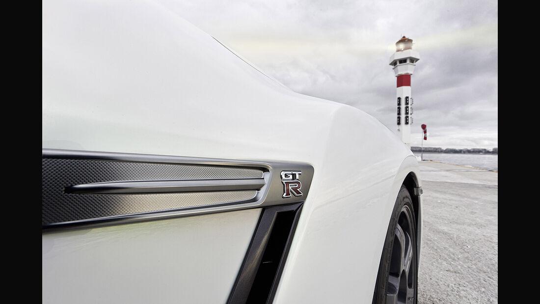 Nissan GT-R Egoist, seitlicher Luftauslass, Radkasten